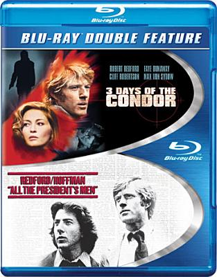 3 DAYS OF THE CONDOR/ALL THE PRESIDEN BY REDFORD,ROBERT (Blu-Ray)