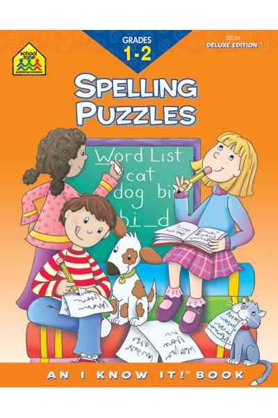 Spelling Puzzles, Grades 1-2 By Hoffman, Joan/ Vivian, Mary/ Rader, Laura (ILT)/ Sasaki, Ellen Joy (ILT)